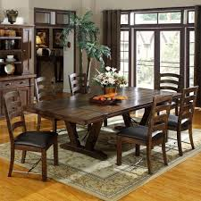 cherry wood dining room table fantastic rustic dining room decoration rectangular cherry ideas