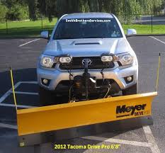 meyer snow plow replacement lights 27 best toyota tacoma meyer drive pro 6 8 snow plow installs