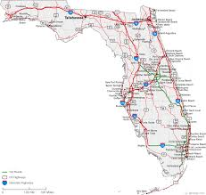 florida highway map map of florida cities florida road map