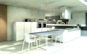 table escamotable cuisine ilot central cuisine avec table escamotable central table cuisine