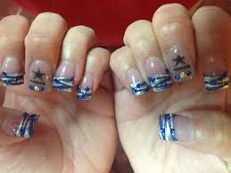 dallas cowboys nails designs skin and nail care