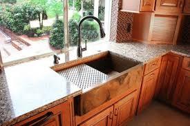 kitchen sink with backsplash contemporary kitchen copper kitchen sink with basins