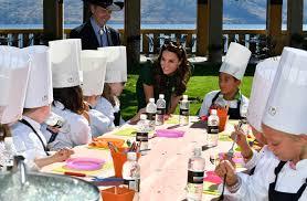 cours de cuisine enfants cours de cuisine avec des enfants pour le princier kate