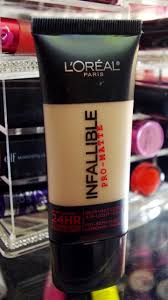 search for that perfect matte foundation that will last all day on my oily skin and i have been getting numerous requests about this l oreal infallible