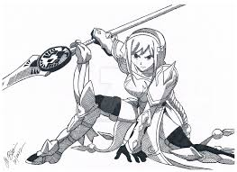 Drawn Scythe Lightning Pencil And In Color Drawn Scythe Lightning