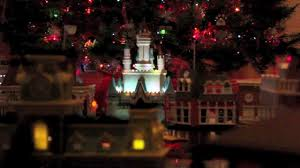 disney world christmas village with monorail youtube