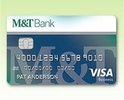 Card One Banking Business Account M U0026t Visa Business Credit Cards M U0026t Bank