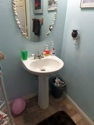 Porcelain Pedestal Sink Pedestal Sink Faucet Replacement How To Install A Pedestal Sink