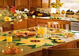 rooster and sunflower kitchen decor Sunflower Kitchen Décor with