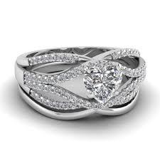 heart shaped diamond engagement rings heart shaped round cut prong white diamond wedding sets engagement