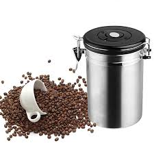 kitchen canisters stainless steel brushed stainless steel glass tea coffee sugar storage jars