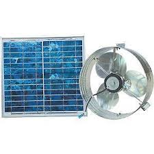 stand up ac fan solar powered fan ebay