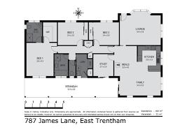 787 Floor Plan by 787 James Lane Trentham House For Sale 118575 Jellis Craig