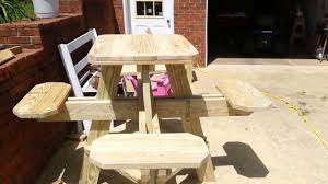 high top table plans easylovely bar height picnic table plans f70 in amazing home design