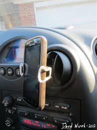 Homemade Phone Stand by Diy Cell Phone Holder For Your Car
