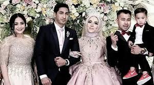 wedding dress nagita slavina tak kalah cantik dari pengantin nagita pamer suara emas di