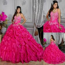 fuchsia quinceanera dresses sweet 16 gown fuchsia quinceanera dresses spaghetti