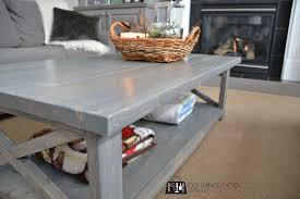 Dyi Coffee Table Diy Coffee Table Rustic X