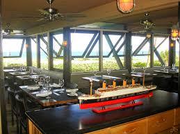 deck dining room hospitality interior design of sea watch