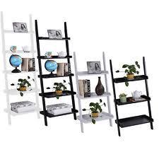 leaning bookcase ebay