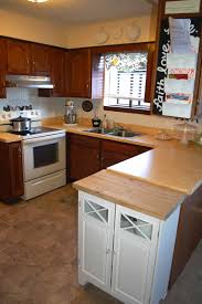 Kitchen Cabinet Contact Paper 10 Ways We U0027ve Disguised Ugly Rental Kitchen Countertops U2014 Home