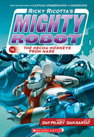 ricky ricotta ricky ricotta s mighty robot vs the mecha monkeys from mars book
