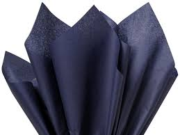 wrapping tissue paper navy blue tissue paper 20 x30