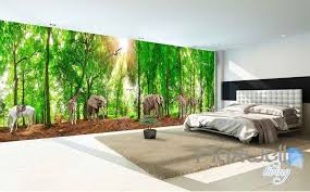 wallpaper for entire wall 3d africa animals forest entire room wallpaper wall murals prints