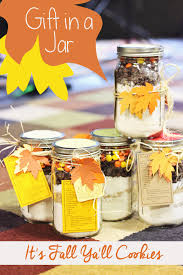Cookie Mix In A Jar Christmas Gifts Gift In A Jar It U0027s Fall Ya U0027ll Cookies Sweet T Makes Three