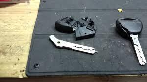 lexus key case cover mitsubishi broken car keys youtube