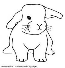 cute baby bunny coloring free download