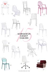 15 gorgeous ghost chairs ghost chairs philippe starck and interiors