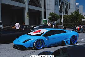 Lamborghini Murcielago Blue - liberty walk lb performance murcielago by fieldstone1993