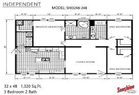 3 Bedroom 2 1 2 Bath Floor Plans Sunshine Homes