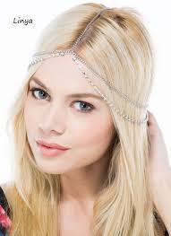 boho headband aliexpress buy hc 076 bejeweled boho chain boho