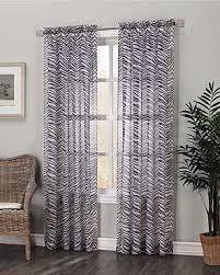 Zebra Print Curtain Panels Kenya Zebra Print Panel Curtainshop Com