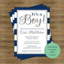 appealing baby shower invites for boy 60 for your custom baby