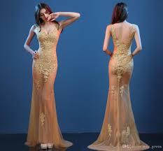 evening dress 2017 perspective models slim fish tail dress