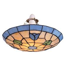 stained glass ceiling light fixtures stained glass uplighter ceiling light fitting tiffany ceiling light