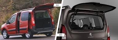 peugeot tepee 2017 2015 peugeot partner tepee u2013 old vs new carwow