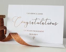 happy engagement card happy engagement card etsy