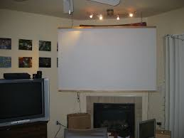 home theater projection screen ghettohardware com home theatre screen on the cheap