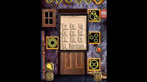 100 door escape scary home walkthroughs 100 door escape scary house level 5 youtube
