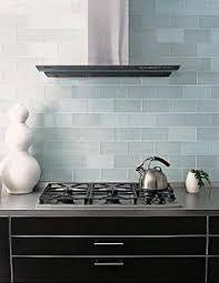 Frosted Sky Blue Glass Subway Tile Subway Tiles Kitchen - Blue subway tile backsplash