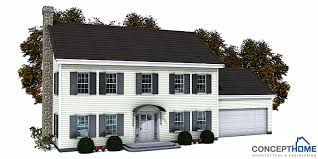 small colonial house plans small house ch150 small house plan with four bedrooms