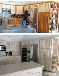 Faux Finish Cabinets Kitchen Kitchens Starlily Design Studio