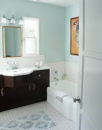 color combo light floors dark vanity pale blue walls the