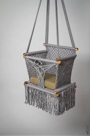 Macrame Hammock Chair Baby Swing Chair 14