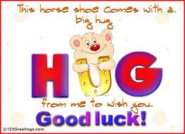 ecards free luck hug free luck ecards greeting cards 123 greetings