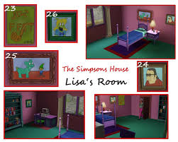 mod the sims the simpsons house 742 evergreen terrace springfield advertisement